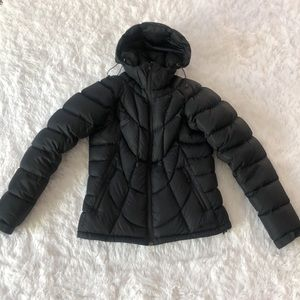 MEC black puff jacket